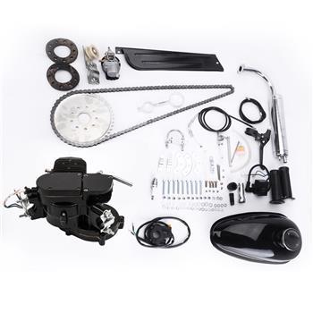 80cc 2冲程 黑色自行车发动机套件