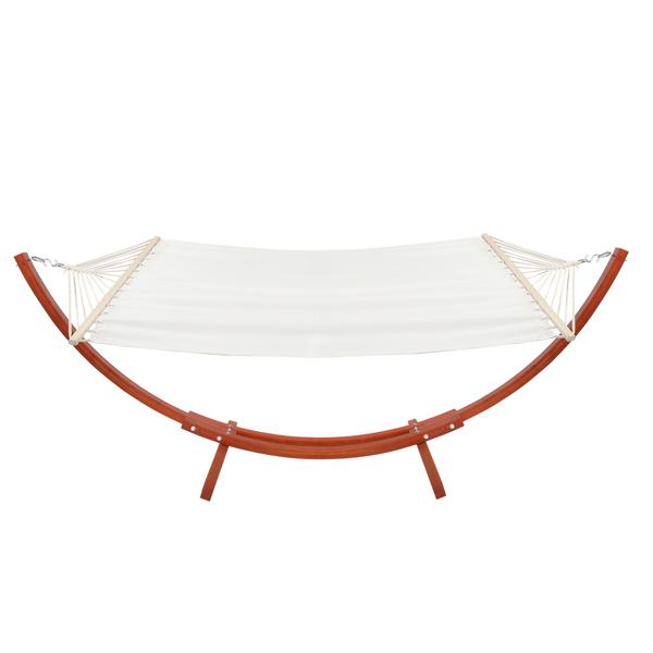 10.5ft 琥珀黄 木吊床套装 150.00kg 带白色涤棉吊床 200*150cm N001