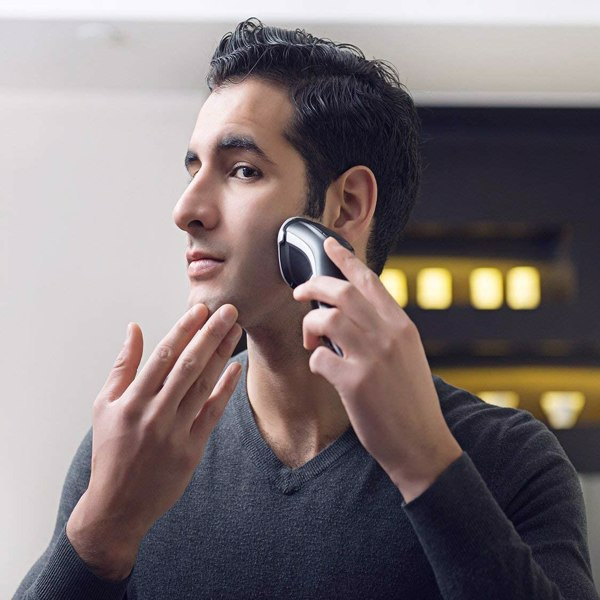 MAX-T 升级版 3D ProSkin LED 剃须刀男士电动、干湿两用剃须刀带旅行锁和弹出式精密修剪器(不能在亚马逊上出售)
