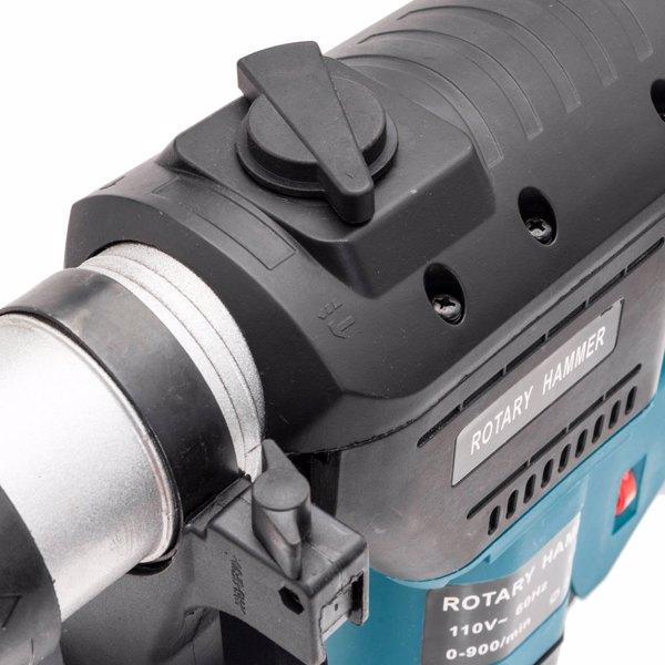 110V SDS PLUS 1100W 1-1/2in 60Hz 电锤 蓝色
