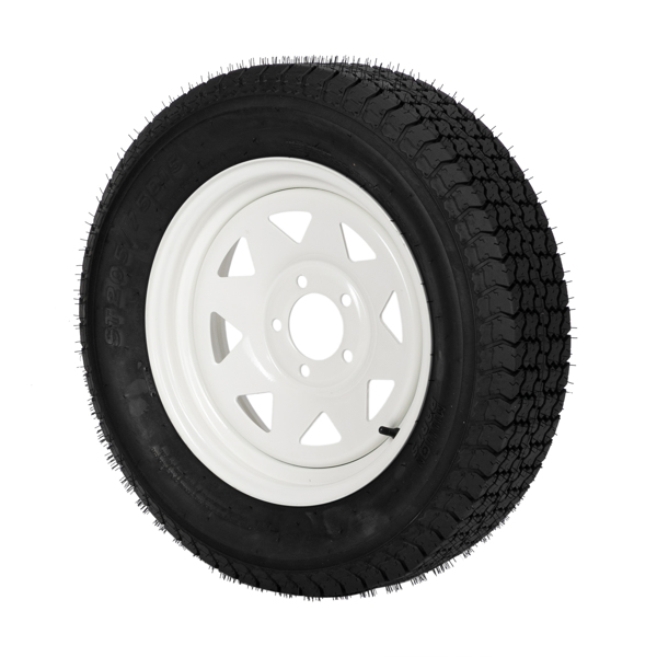 G33000390 ZY ST205/75D15 5Lug 6PR H188 * 1 White Rim 车轮 MP