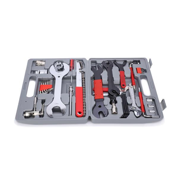 上海自行车全套修理工具 44件套盒装 (去胶水发货)