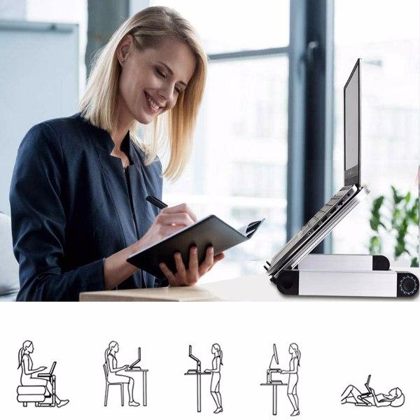铝合金折叠笔记本电脑桌显示器支架