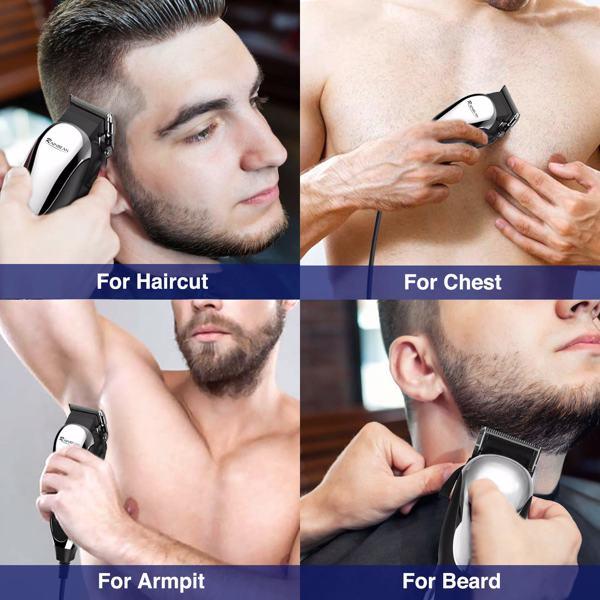 男士有线理发器强力电动理发器头发胡须修剪器
