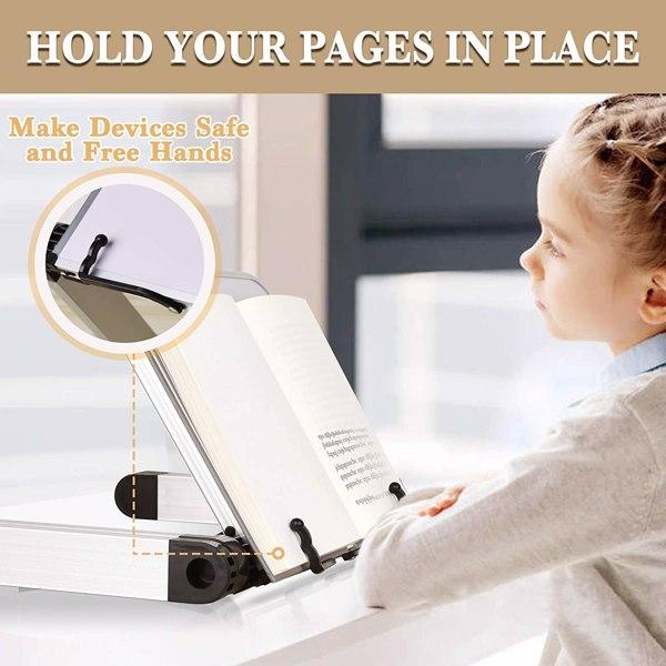 阅读桌阅读支架笔记本电脑桌支架白色
