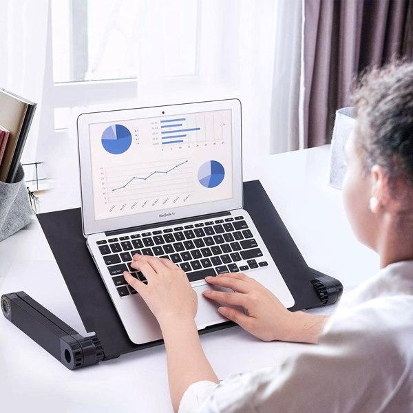 铝合金折叠笔记本电脑桌支架床上桌