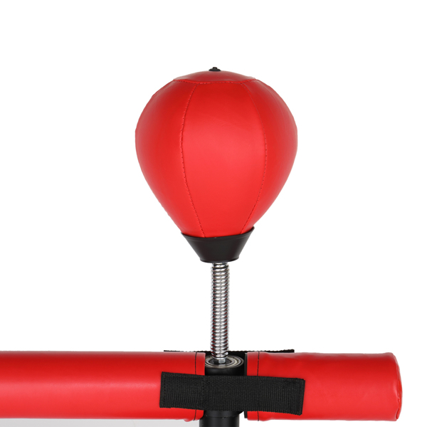 170*30*30cm PU皮革 ABS吹塑 N001 红色 带旋转轴 速度球 拳击沙袋