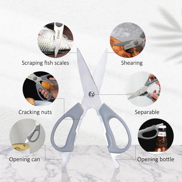 厨房套装刀空心不锈钢柄刀15件套德国钢