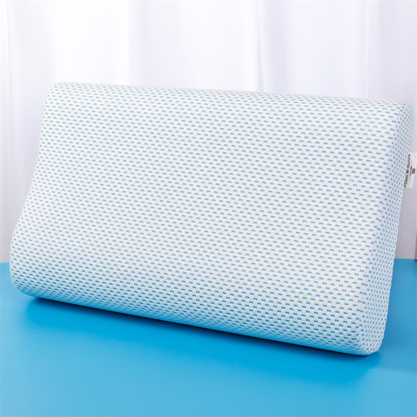 PON慢回弹记忆棉RLZT-66天蓝色波浪枕60*35*9/11cm(亚马逊禁售)