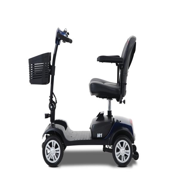 M1-BLUE 电动代步车 适用于代步工具 ,美规插头 Garden outdoor hot sell lightweight compact mobility scooters