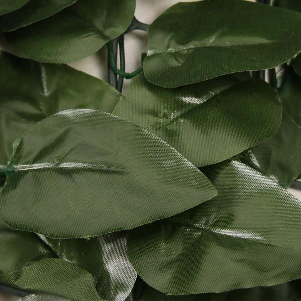 1.5*3m 绿色 塑料 庭院栅栏网 长方形 桃叶篱笆 (1310片叶子) 欧洲