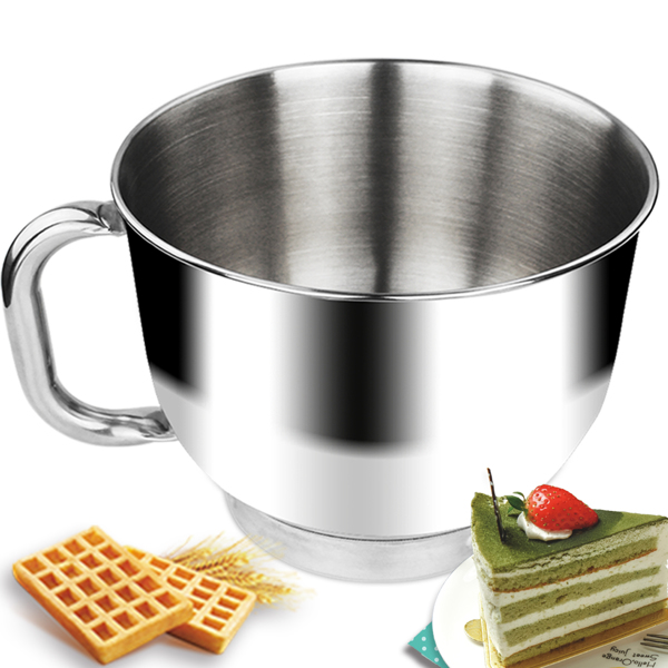 1500W 电动立式搅拌机5.5L不锈钢碗红色