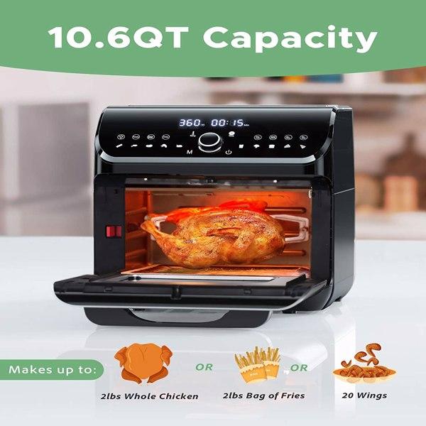 10L不锈钢空气烤箱(亚马逊禁售)