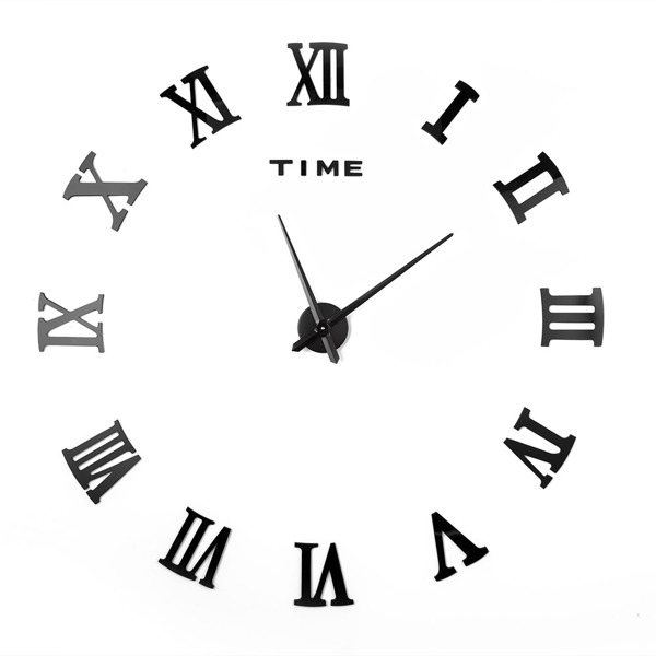 DIY罗马挂钟-黑色