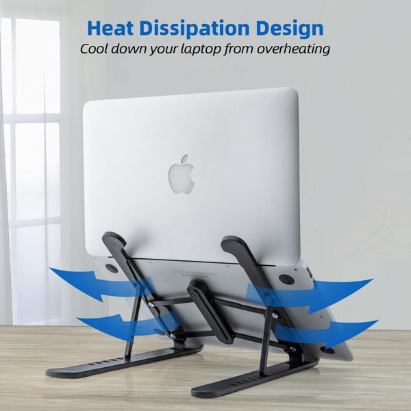 折叠笔记本电脑桌支架散热