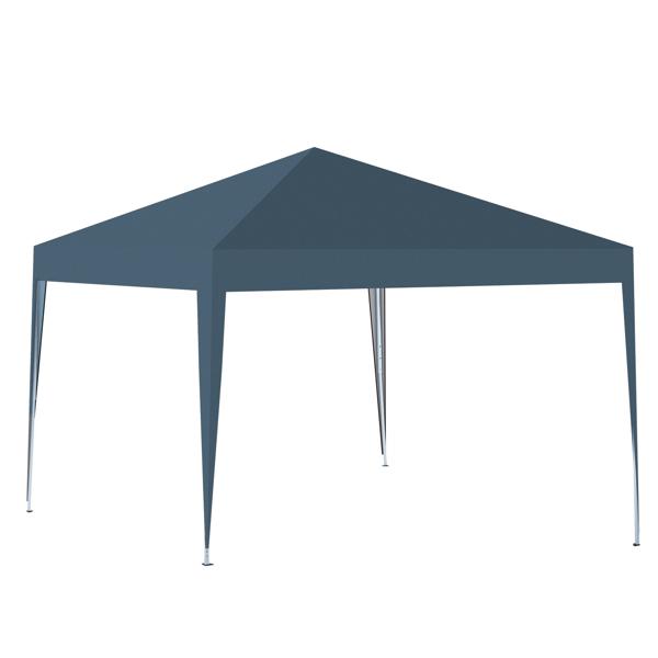 3x3M 弹出式速开凉棚 帐篷 210D 带防水涂层 + 收纳袋 蓝色