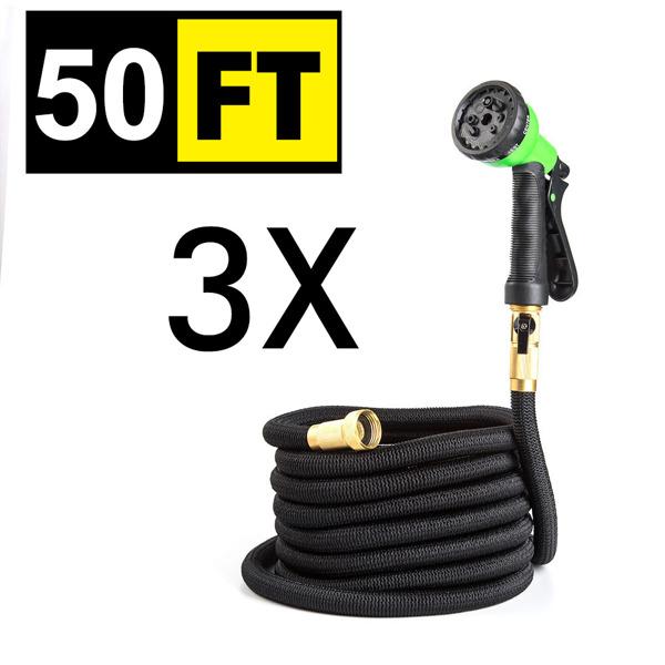 伸缩水管 50FT铜接口