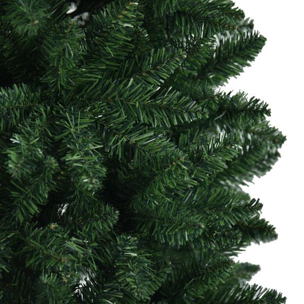 FCH 6ft 尖头笔杆绑树 嫩绿 圣诞树 PVC树枝铁支架 N101 英国
