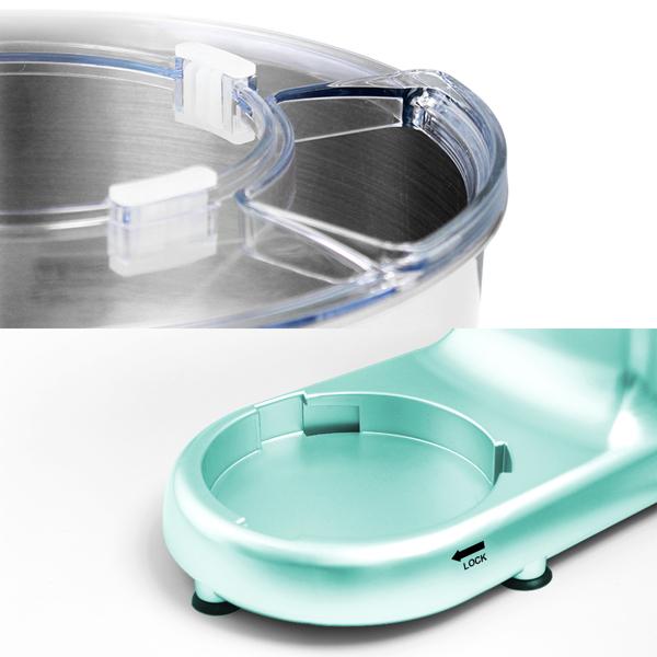 1500W 电动立式搅拌机 5.5L不锈钢碗 蓝色