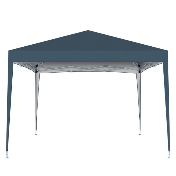 2x2M 弹出式速开凉棚 帐篷 210D 带防水涂层 + 收纳袋 深蓝色