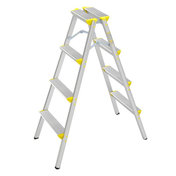 FCH 铝合金 4踏步日式 踏步梯 德国 黄色
