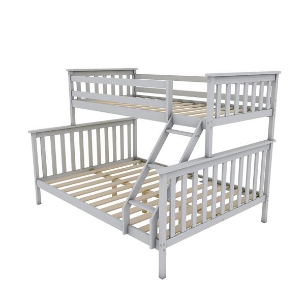 上下床全灰色