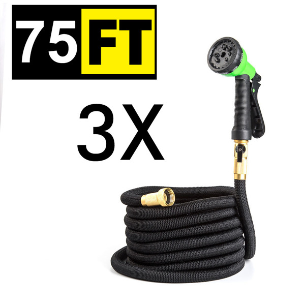 伸缩水管75FT铜接口