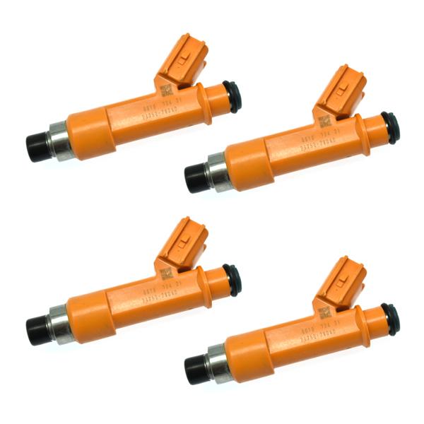 喷油嘴4Pcs Fuel Injectors for 2010-2012 Lexus HS250H 2003-2011 Toyota Camry 23250-28060