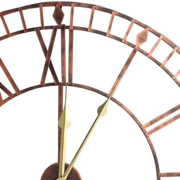 80cm罗马挂钟古铜色 升级