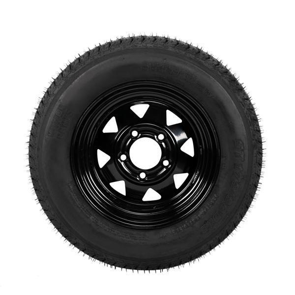 ZY ST175-80D-13 5Lug 6PR H188*1 Black Rim 车轮 MP