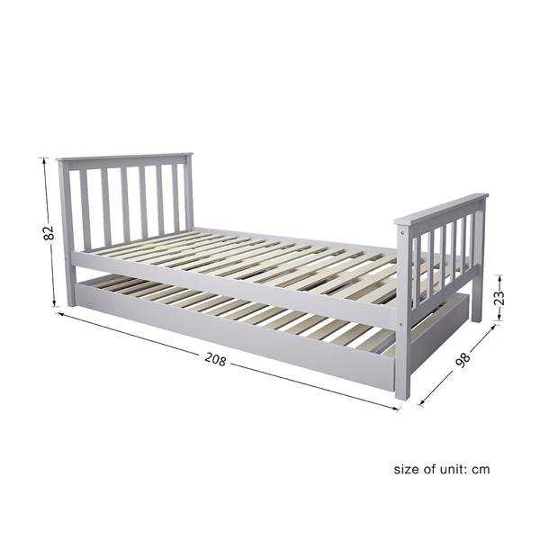 上下床灰色