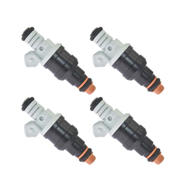 喷油嘴4Pcs Fuel Injectors for Ford 6 Cyl 3.8L 4.9L F1ZE-B4C