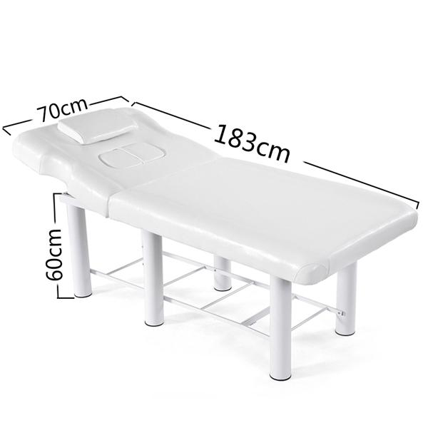 胸透美容床白色