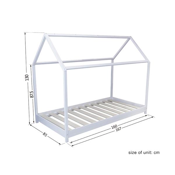 儿童床160CM白色