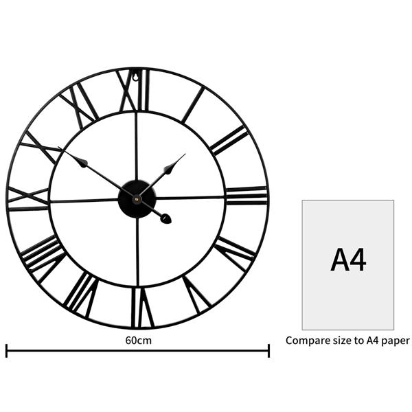 挂钟黑色60厘米  升级