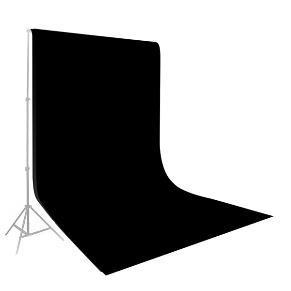 Kshioe N-8 1.6 * 2m 无纺布 黑色 背景布