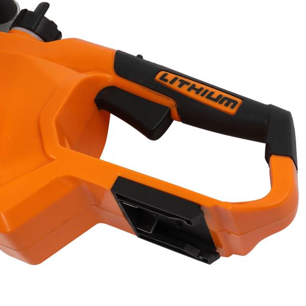 20V 10in 2.0AH 无线锂电带快充座充 电锯 橙色