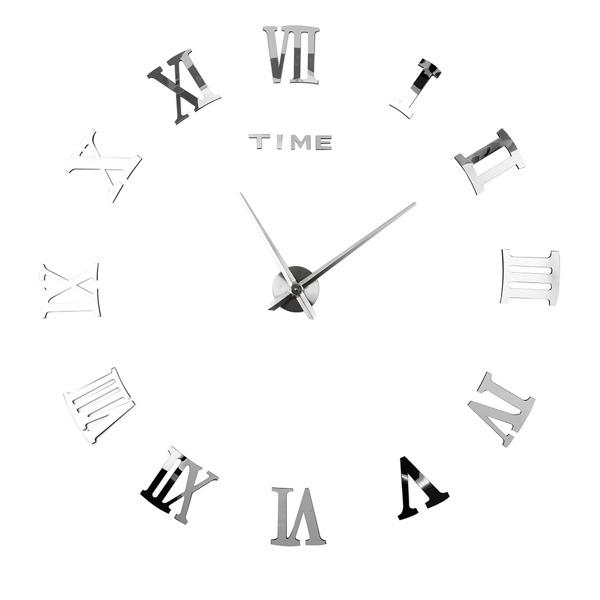 DIY罗马挂钟-银色