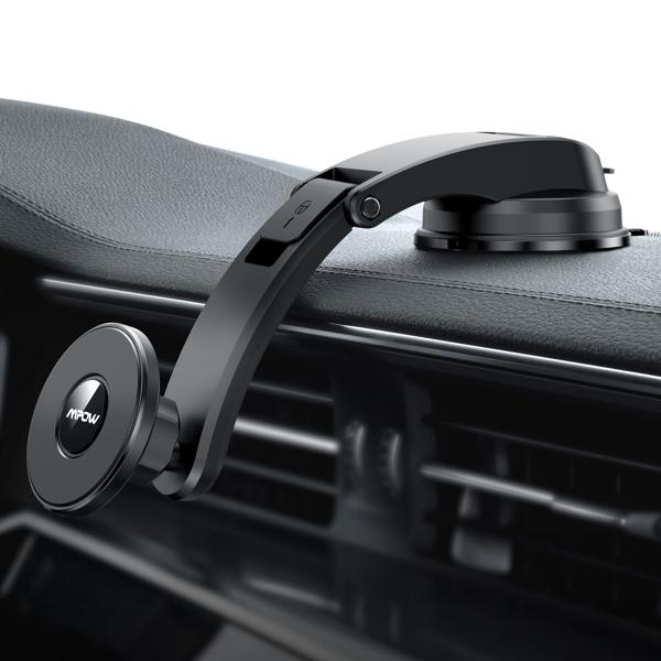 【亚马逊禁售】磁性车载电话支架,兼容 iPhone 12/12 Pro/12 Pro Max/12 mini/MagSafe 手机壳等