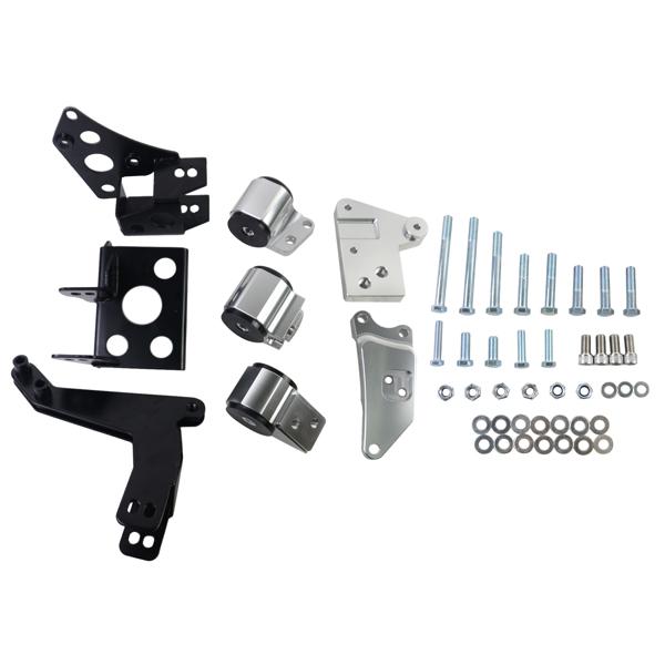 发动机支架套装  Engine Swap Mount Kit for Honda Civic EK 1996-2000 K20 K24 K-Series EM-1008