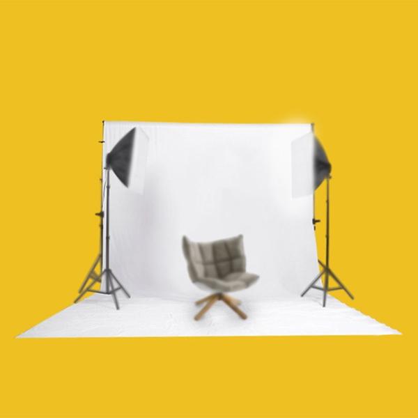 Kshioe N-7 1.6 * 1m 无纺布 白色 背景布