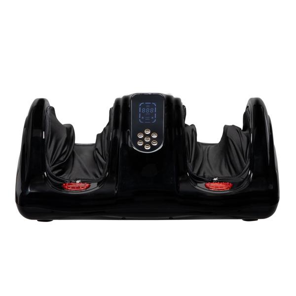 ZOKOP 美规 TD001F-A 足疗机 110V 40W 带空气加热器 带液晶显示屏 塑料 黑色 1-3级 振动和速度