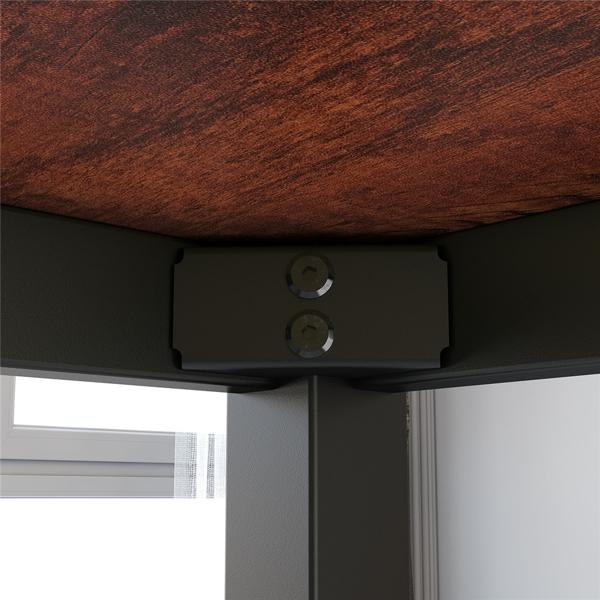 55英寸现代简约电脑桌办公桌,檀香木(亚马逊禁售)