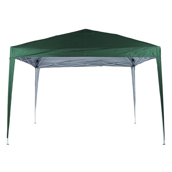 2x2M 弹出式速开凉棚 帐篷 210D 带防水涂层 + 收纳袋 绿色