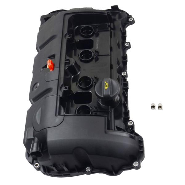 气门室盖 Engine Valve Cover w/Gasket For Peugeot 208 Allure Pack Hatchback 4-Door 1.6L