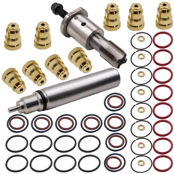 喷油器拆卸安装套件Fuel Injector Sleeves Remover Installer Kit for Navistar T444E, DT466E Diesel Engines fit for Ford 7.3L Powerstroke 1994-2003