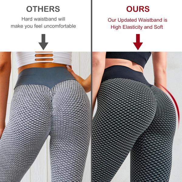 tiktok抖音女士紧身裤提臀高腰瑜伽运动裤深灰色M码