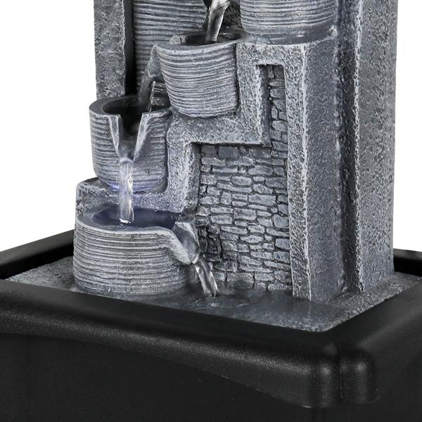 10.6英寸带LED灯的台式喷泉(亚马逊禁售)