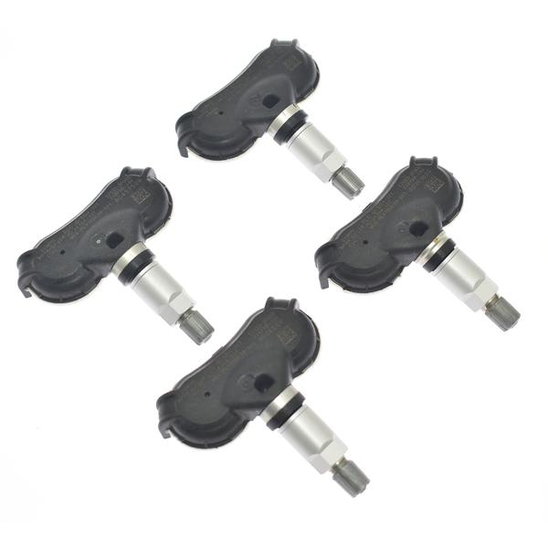 胎压传感器4 Pcs TPMS Sensor 315MHZ for Hyundai Accent Equus Genesis Sonata Tucson Kia Rio Borrego Spectra Sportage 52933-2F000