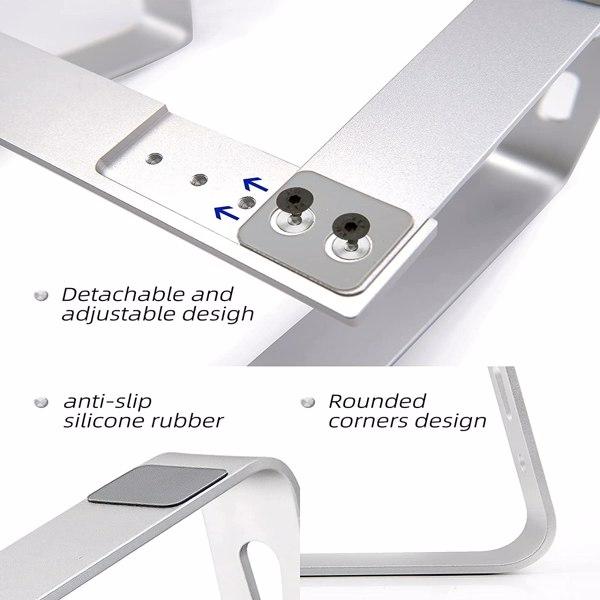 铝合金笔记本电脑桌抬高支架散热镂空